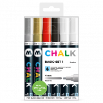 Chalk Marker Basic-Set 1 (4 mm)