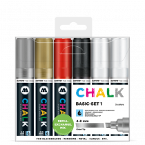 Chalk Marker Basic Set 1 (4-8 mm)