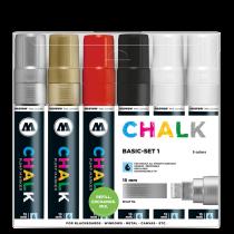 Chalk Marker Basic-Set 1 (15 mm)