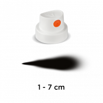 """Cap """"SilentFat"""" (weiß/orange)"""
